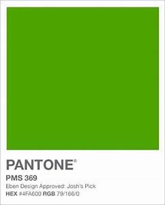 Pantone PMS 369 Verde Pinterest
