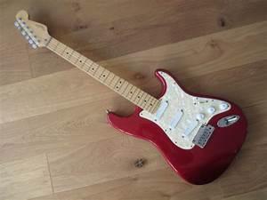 Sold  1997 Usa Fender Stratocaster Plus Guitar Car