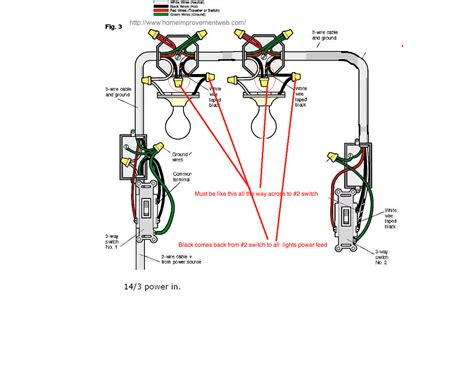three way electrical switch wiring diagram electrical