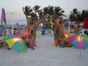 Image of: Theme Party Applicable Beach Theme Décor With Fresher Ideas And Results