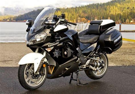 Police-spec Kawasaki Concours 14 Recalled