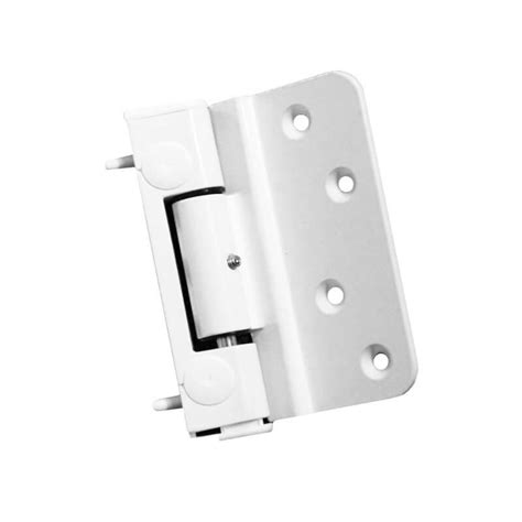 era challenger  composite door hinge white