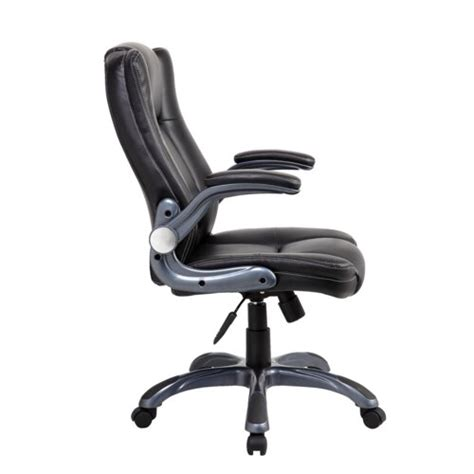 Office Chairs With Flip Up Arms by Techni Mobili Mid Back Manager Office Chair With Flip Up