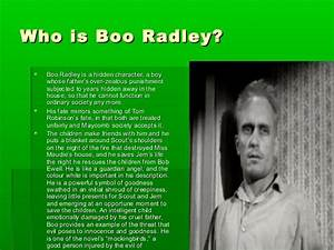 To Kill a Mocki... Boo Radley Mysterious Quotes