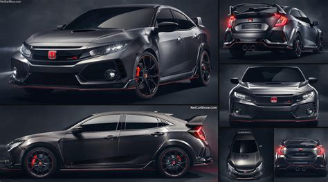 Honda Civic 2016 Type R by Honda Civic Type R Concept 2016 Pictures Information
