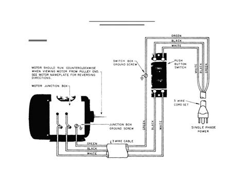 Wiring Diagram Single Phase Motor Contactor Forums