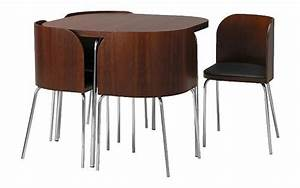 Furniture fashionikea fusion small spaces dining table for Table and chairs for small spaces