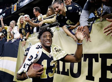 Saints' Michael Thomas Uses Cell Phone, Does 'Joe Horn ...