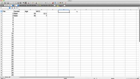 spreadsheet software youtube
