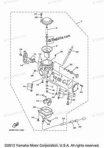 Yamaha Atv 2001 Oem Parts Diagram For Carburetor