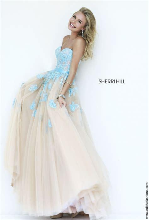 sherri hill light blue dress evening gowns prom dresses dress 11200 edith 39 s