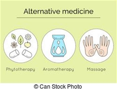 phytotherapy clipart vector and illustration 98