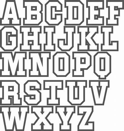 Block Font Fonts Letter Letters Lettering Alphabet