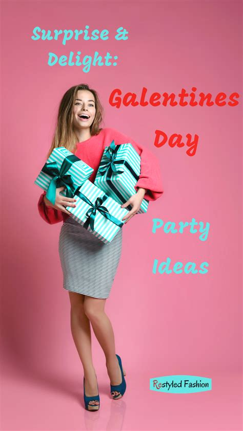 Surprise and Delight: Stylish Galentines Day Party Ideas ...