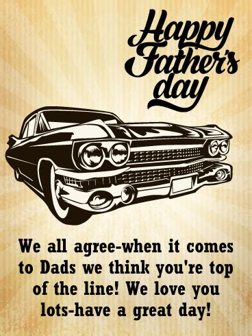 classic happy fathers day card birthday greeting cards davia