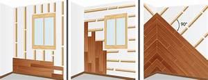 Pose De Lambris Bois : installer une ossature en bois lambris ~ Premium-room.com Idées de Décoration