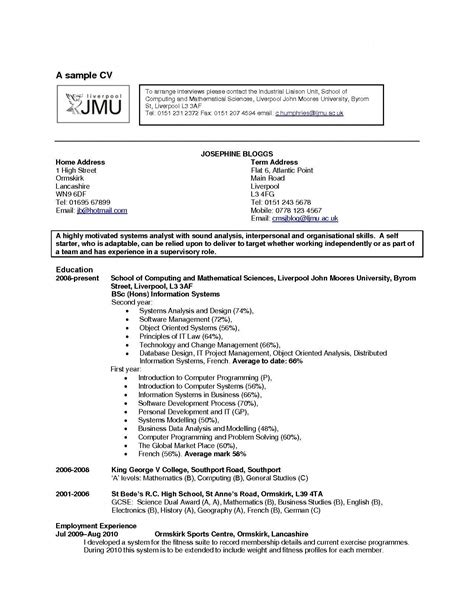Hobby In Resume by Cv Exles Hobbies How To Write About Hobbies On Your Cv