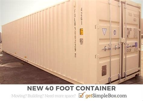 container bureau location 40 shipping container to rent or buy simple box storage