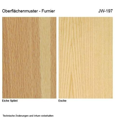 Buche Eiche Vergleich by Oberfl 228 Chenmuster Echtholz Furniert Eiche Splint Esche