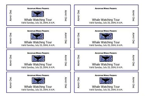 Free Ticket Template Event Ticket Templates Microsoft Word Templates