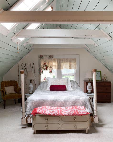 attic bedrooms with slanted walls sneak peek molly robert josiah bingaman design sponge