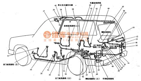 mitsubishi pajero light road vehicle circuit