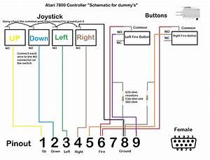 Byo Atari 7800 Controller - Schematic For Dummys