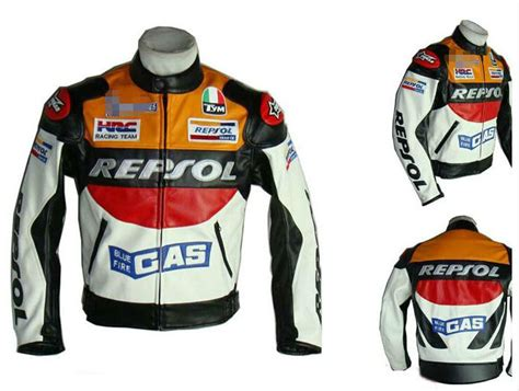 New Men's Outdoor Repsol Honda Motorcycle Jackets Racing
