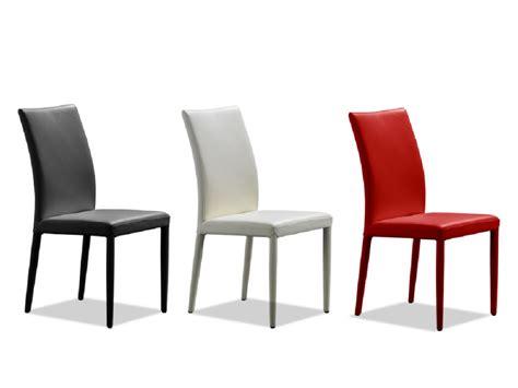 chaise en cuir noir lot de 2 chaises en cuir de vachette atalante 3 coloris