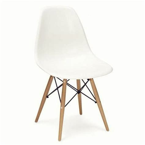 coloured dsw eames style wood base chair  colours