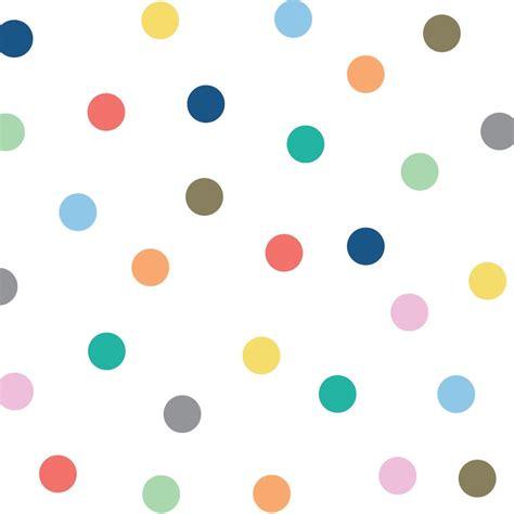 colour dots wall decal tresxics