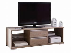 Télévision Pas Cher Conforama : meuble tv 4 niches 2 tiroirs malo meuble tv conforama ~ Dailycaller-alerts.com Idées de Décoration