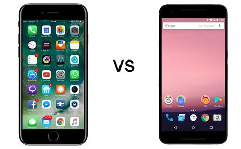 android 7 ios 10 vs android 7 0 nougat pc advisor