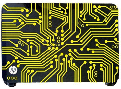 Digital Circuit Board Pattern Laptop Skin Decal Vinyl