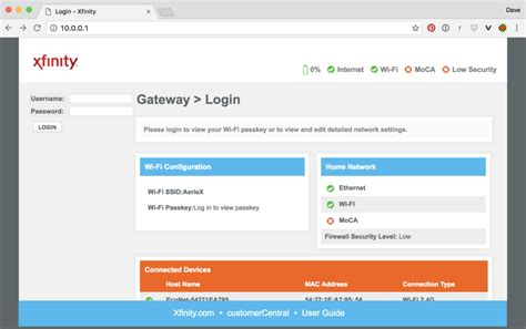 10001 Xfinity Login Page, Admin, Password, How To