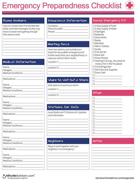 Emergency Response Checklist Template by How To Prepare For Severe Winter Weather Lsss Emergencykits