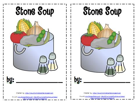 lil country librarian stone soup printables