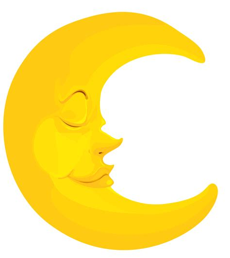 Best Moon Clipart #4536 Clipartioncom