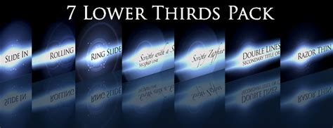 composition templates thirfd lower thirds 7 pack church media resource