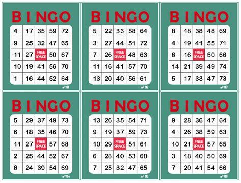 cartones de bingo de 80 bolas para imprimir pdf como evehill