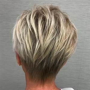 Coupe Courte Femme Cheveux Gris : coupe cheveux courts gris femme 50 ans coupe courte femme ~ Melissatoandfro.com Idées de Décoration