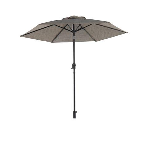 hton bay statesville 8 ft round patio umbrella in