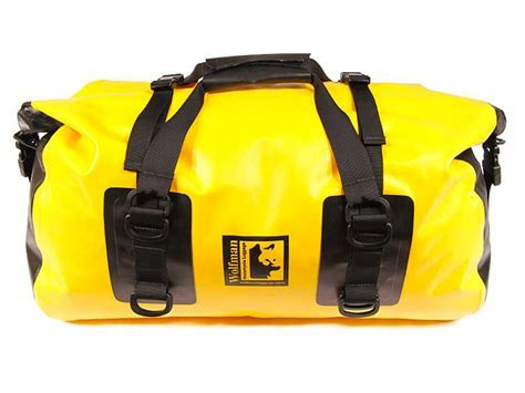 PMR   Wolfman Black Medium Dry Duffel Bag (Expedition
