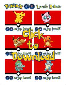 Go Free Printables Pokemon