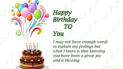 Birthday Quotes Images Wishes and Wallpapers - 9to5 Car Wallpapers