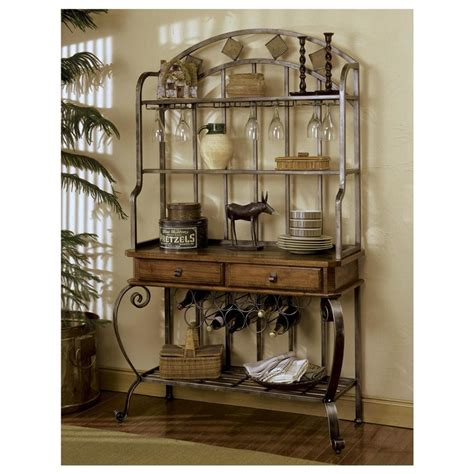 kitchen bakers rack cabinets 1000 images about home decor on artificial 5087
