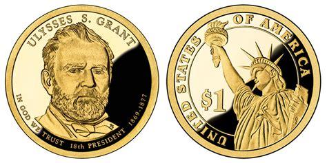 presidential dollar ulysses  grant golden dollar coin  prices  info