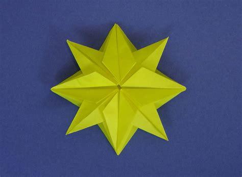 origami christmas star tavins origami