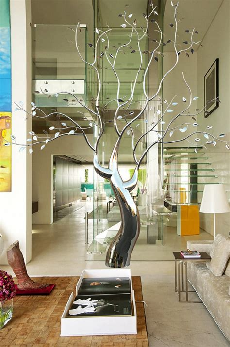 stainless steel tree sculpture sculpture for sale beautiful original stainless steel kinetic wind tree sculpture artsyhome