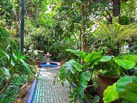 5 Fabulous Courtyard Gardens In Marrakech  Morocco Travel